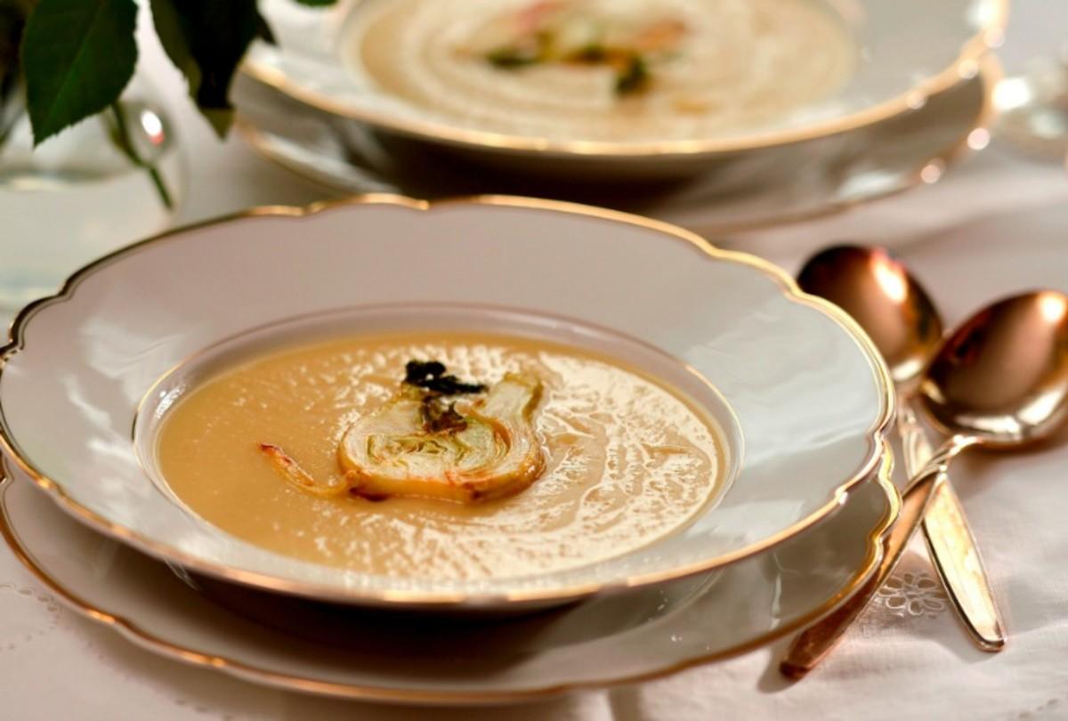 Fennel-soup