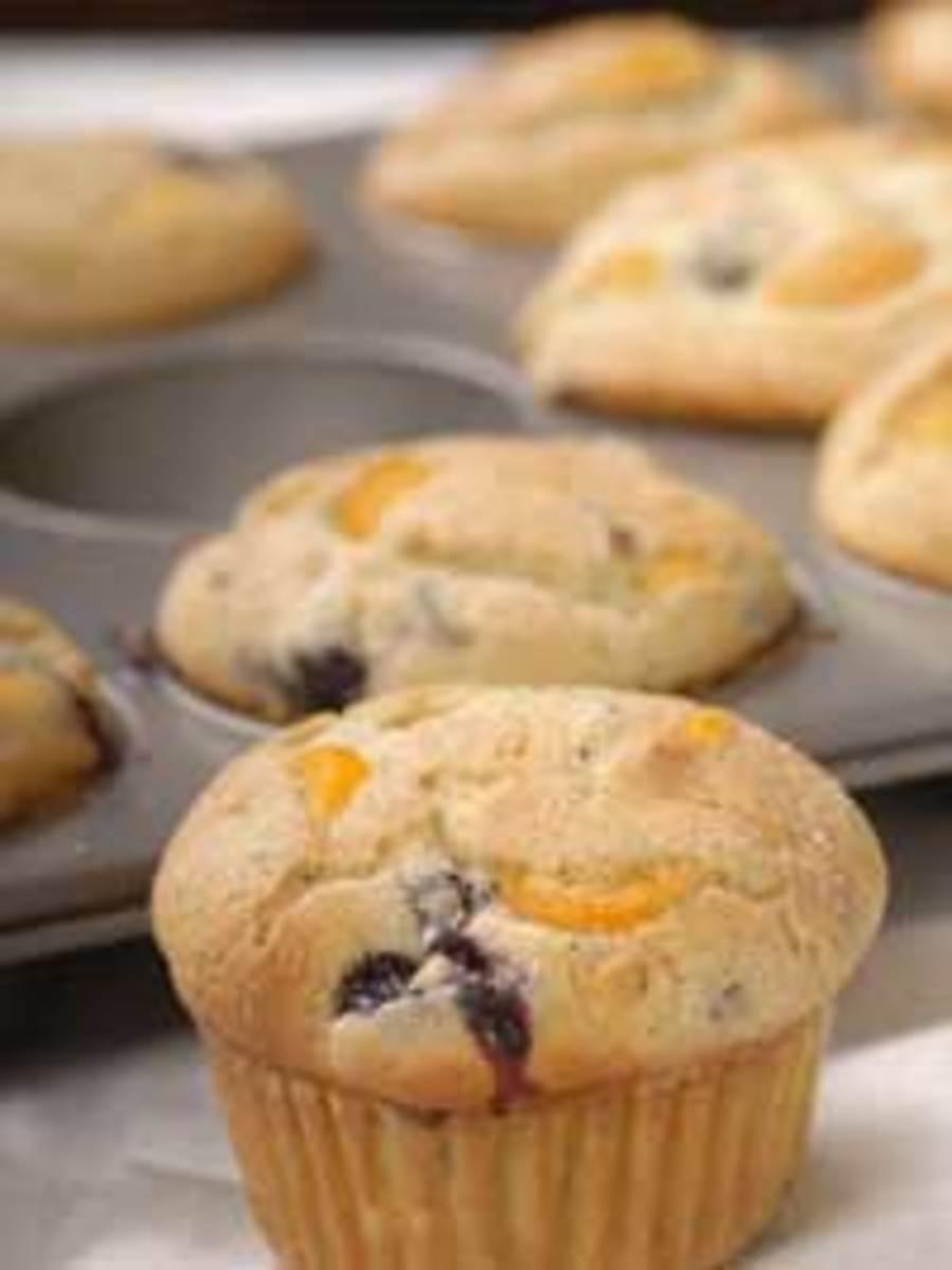 Wild Blueberry Mandarin Orange Muffins