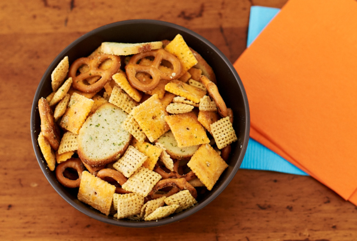 savory snack mix