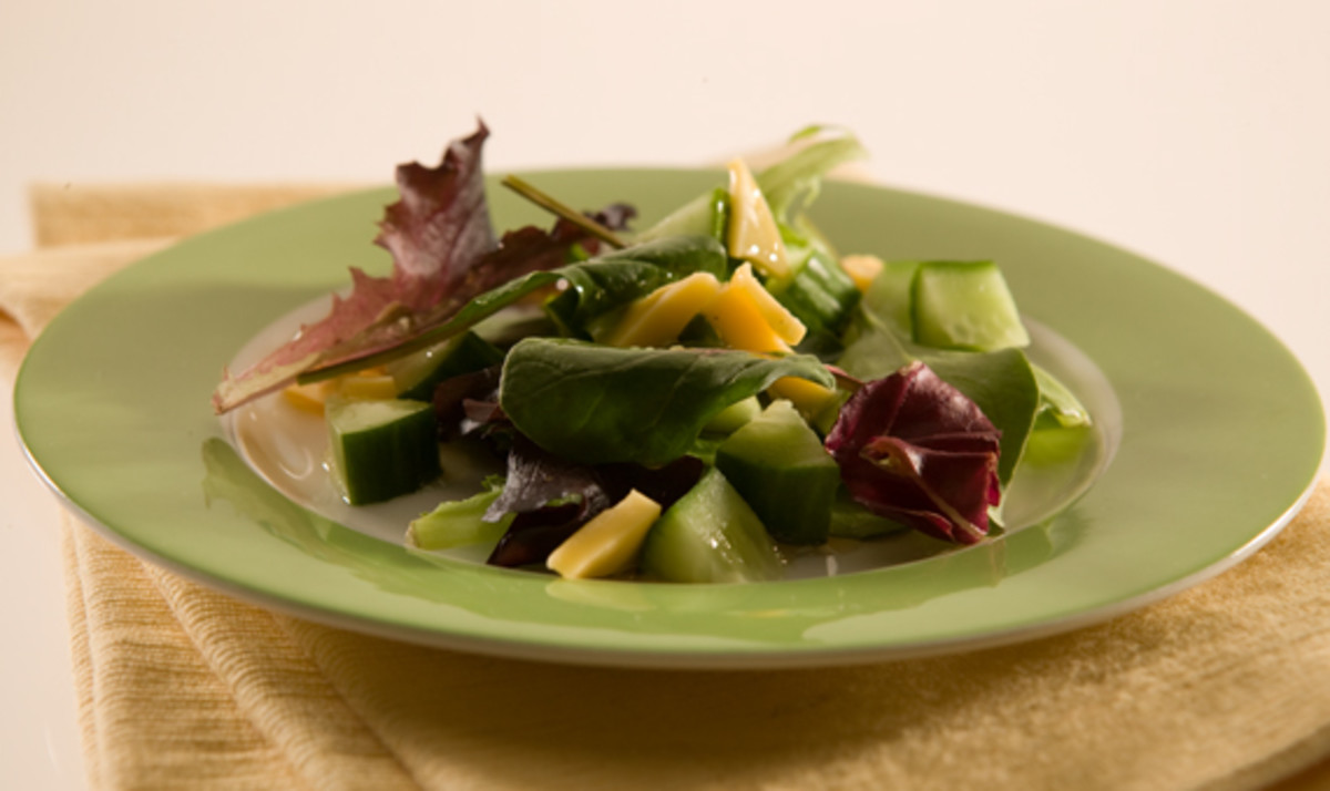 Mixed Greens and Maple Dressing