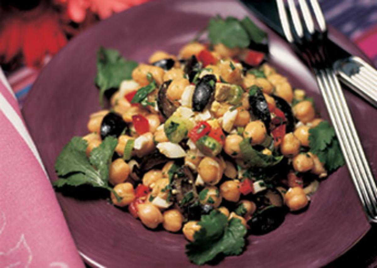 South American Garbonzo Salad