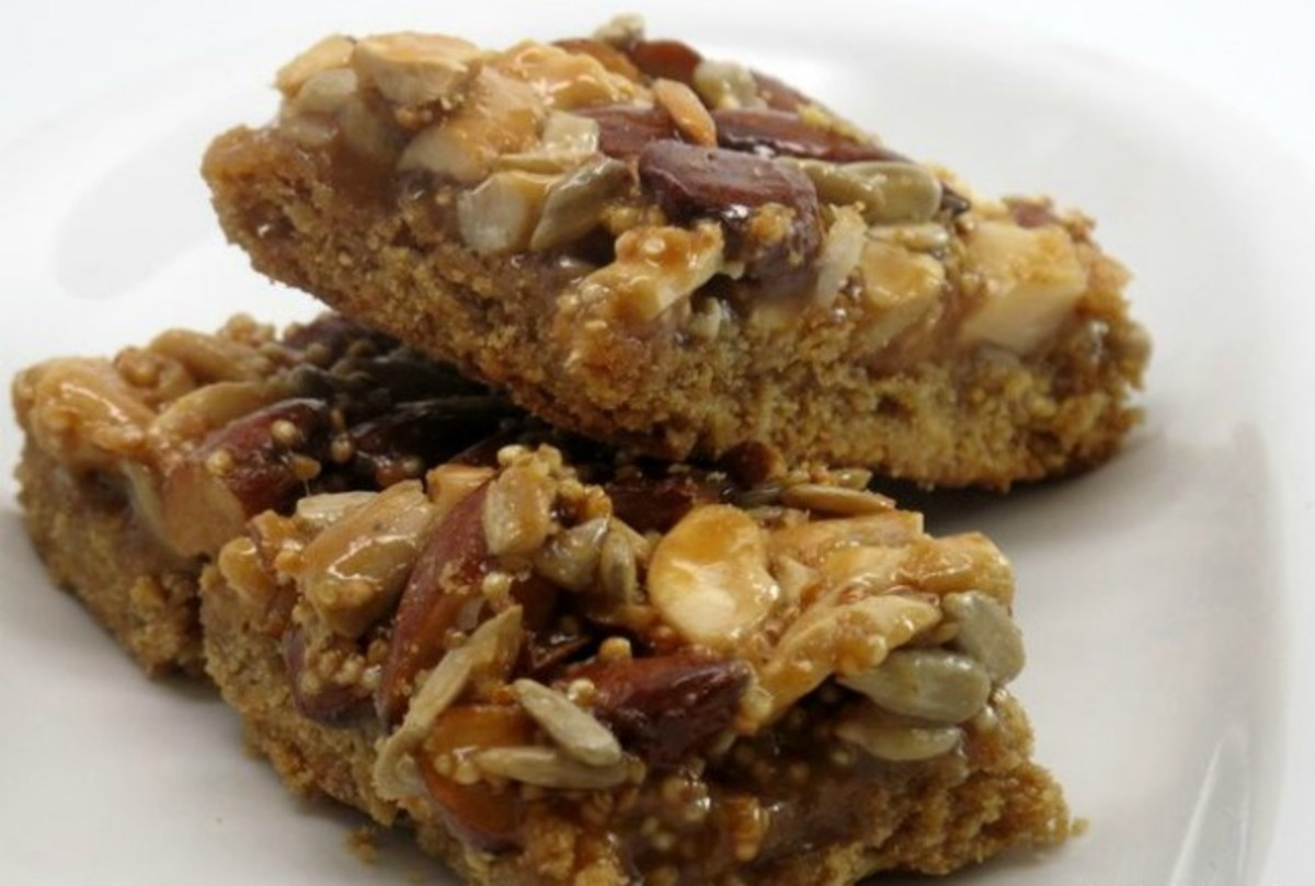 Nutty & Decadent Quinoa Bars