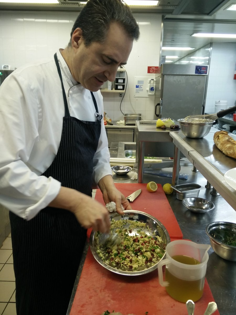 Itzik In The Kitchen