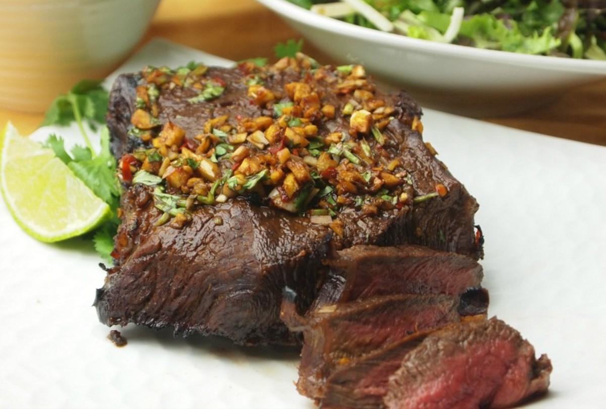 Thai Flavored London Broil