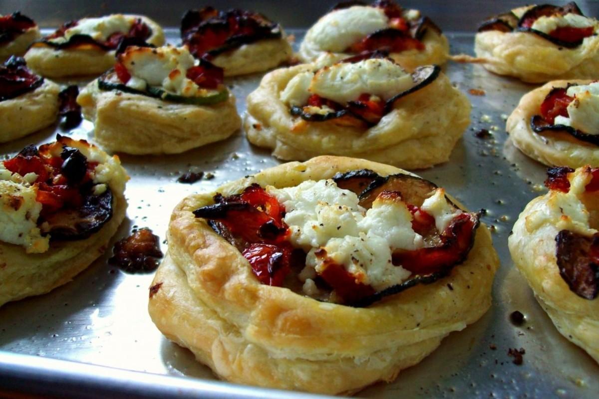 zucchini-goat-cheese-tarts