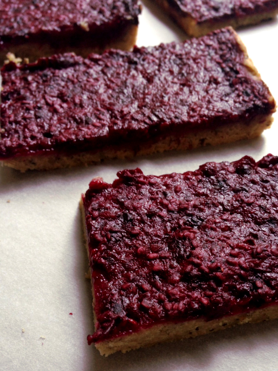Berry Chia Bars