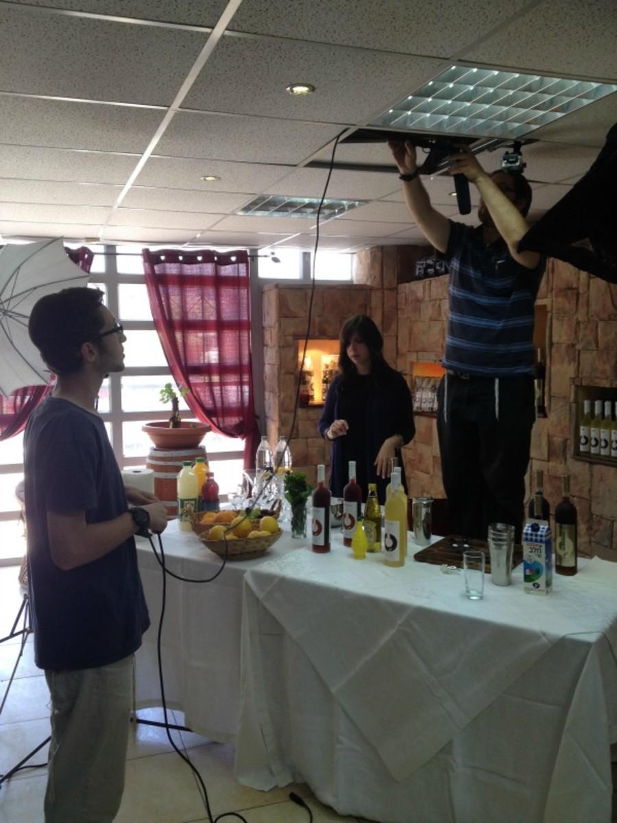 setting up at morad