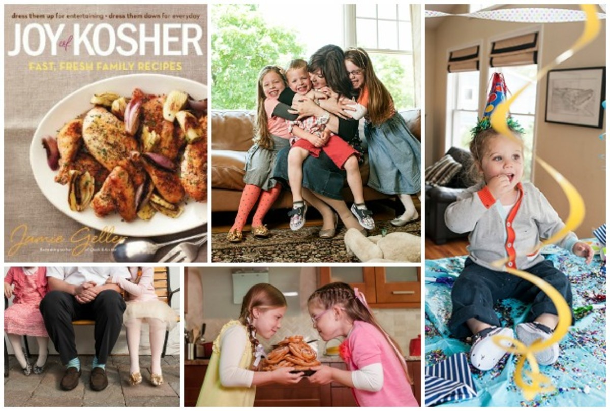 joy of kosher cookbook collage