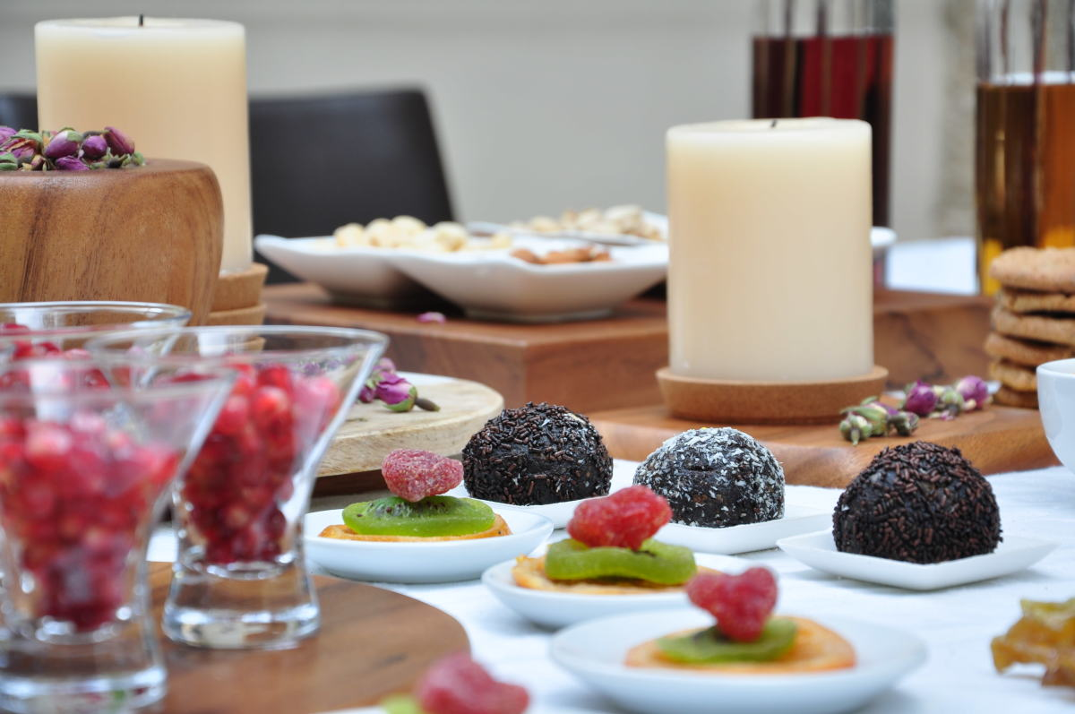 Tu Bishvat Table Decor