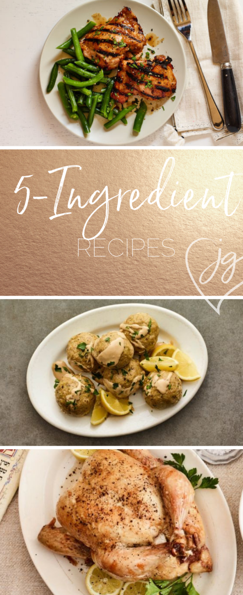 5 ingredient recipes for busy parents with picky eaters