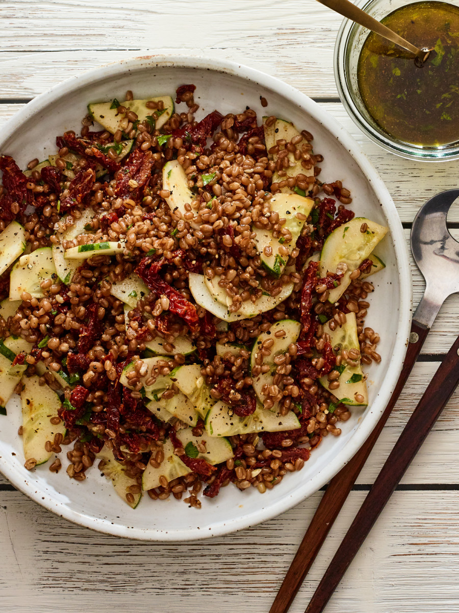 3-Ingredient Wheat Berry Salad