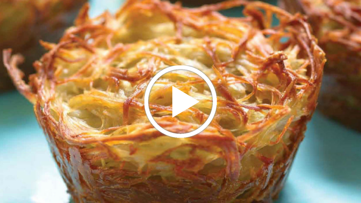 Potato Kugel Cups