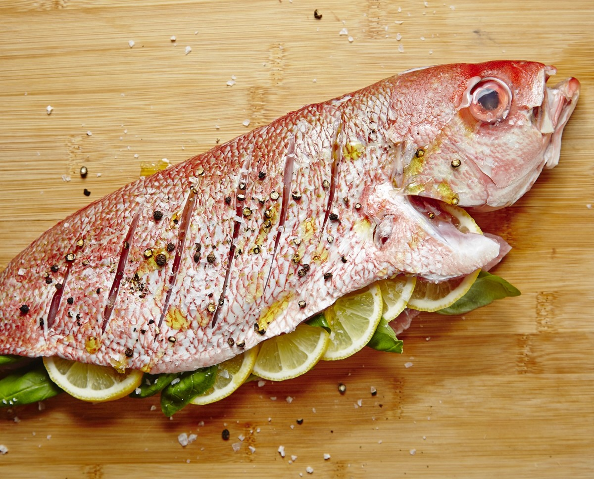ROASTED WHOLE FISH