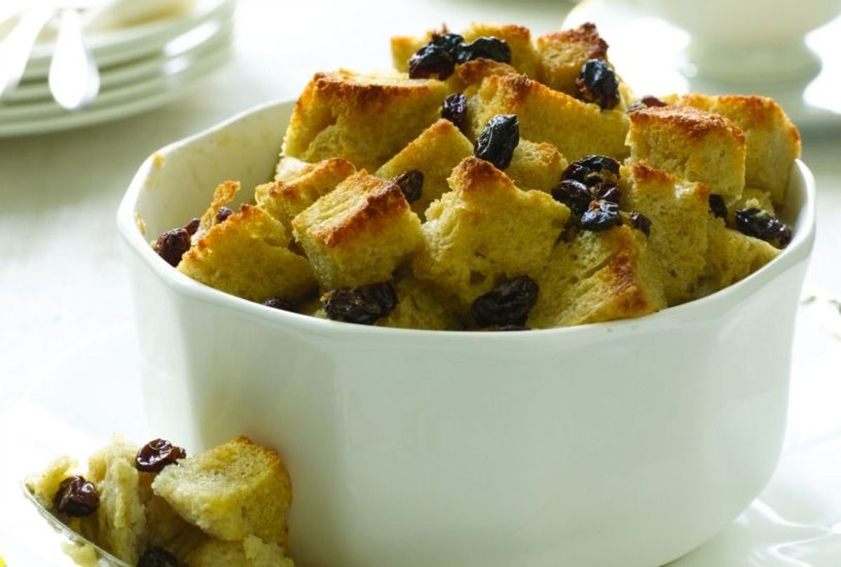 Rum Raisin Bread Pudding