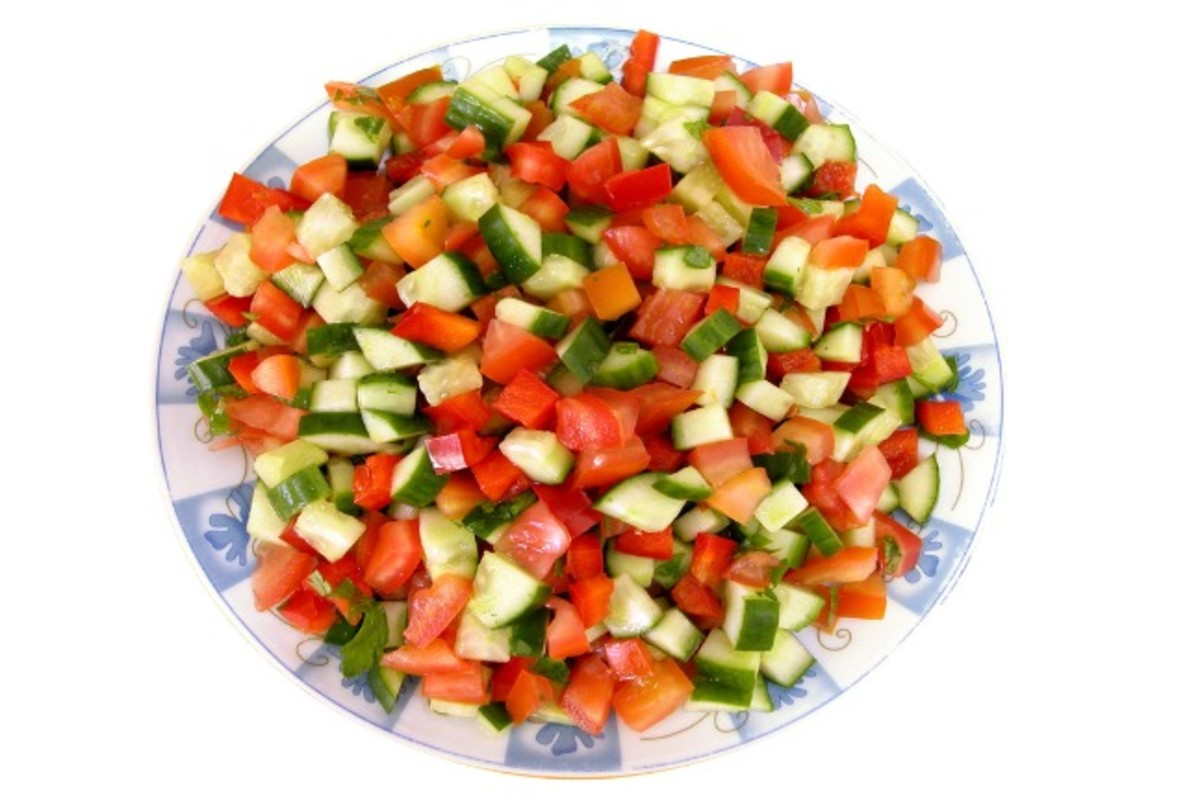 israeli chopped salad