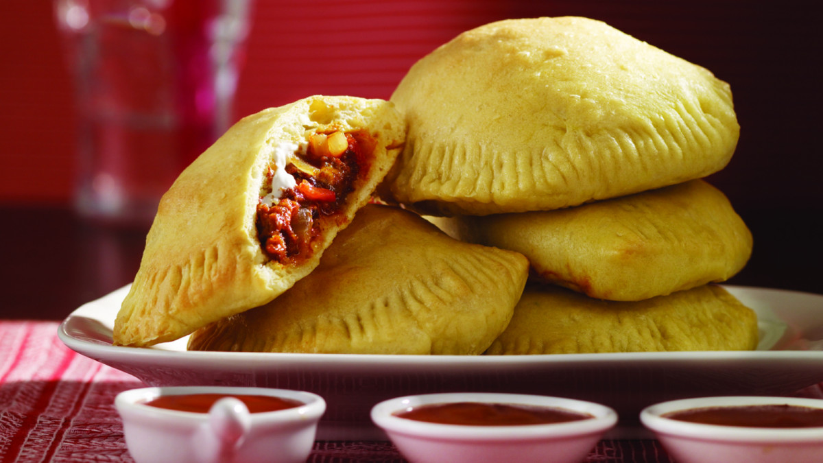 Mexican Pizza Empanadas from Susie Fishbein - Teens Can Cook This
