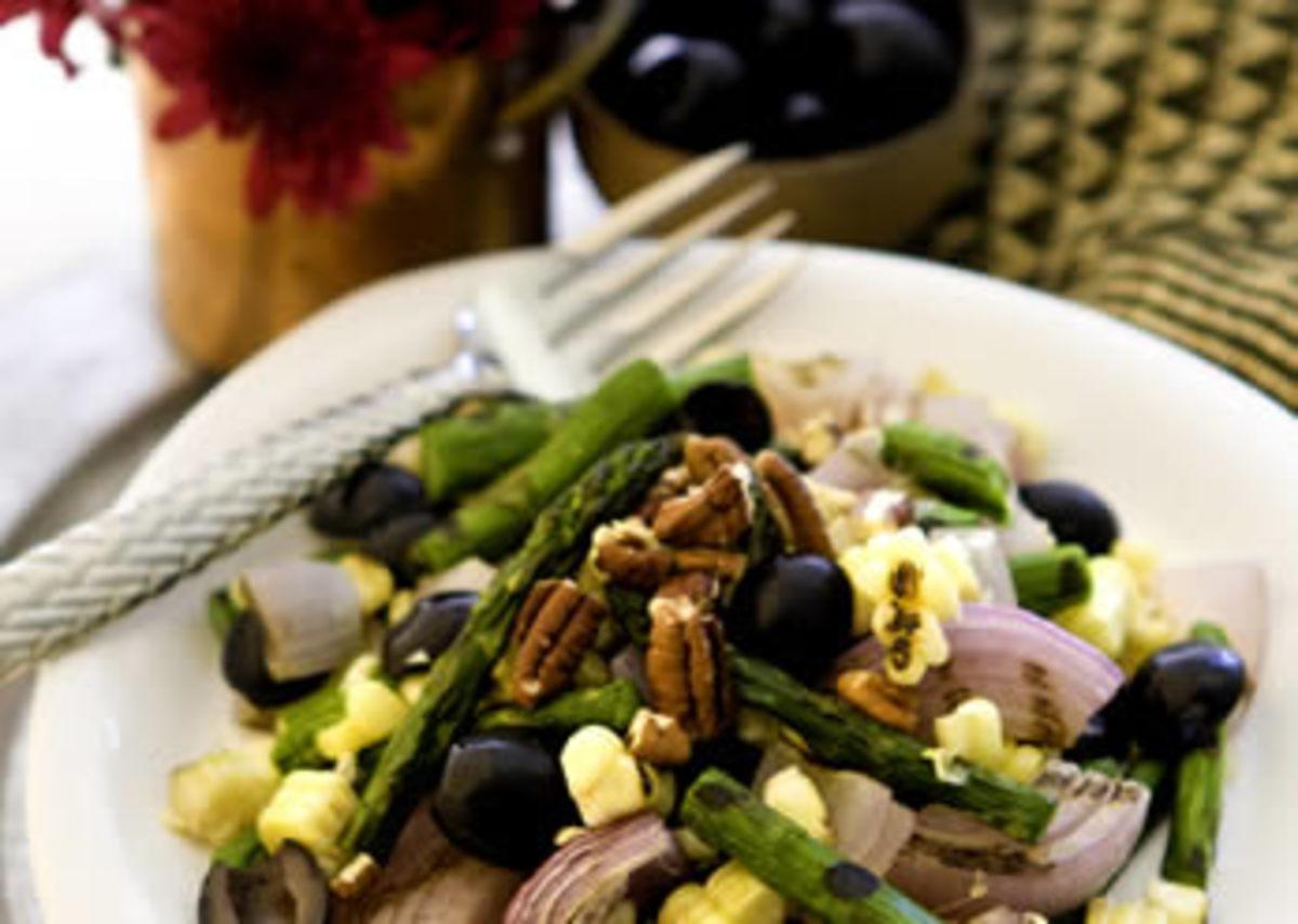 Grilled Summer Corn Salad