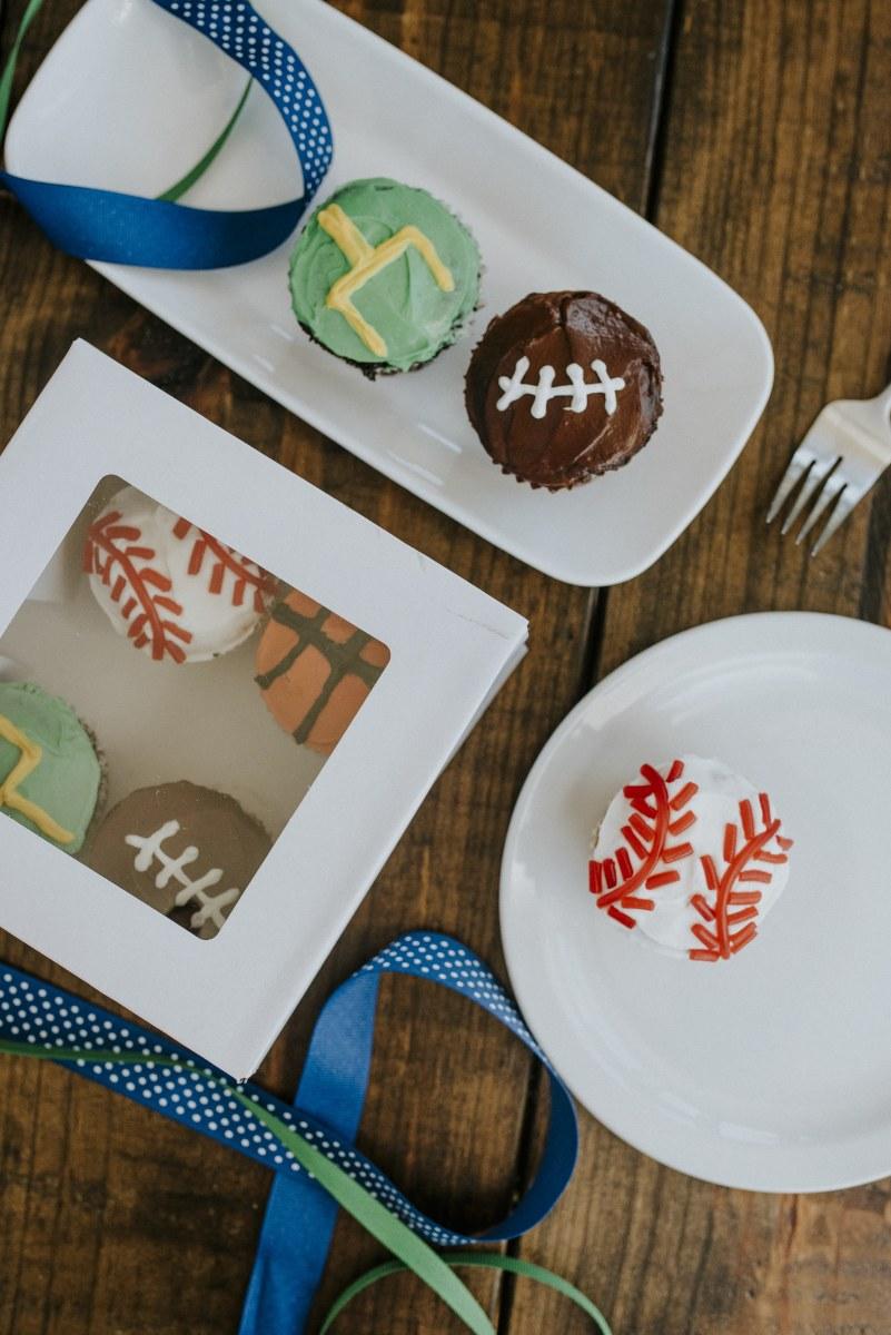 Sporty DIY cupcakes