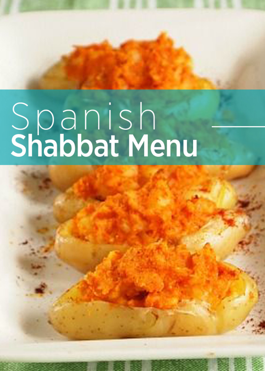 Spanish Shabbat Menu