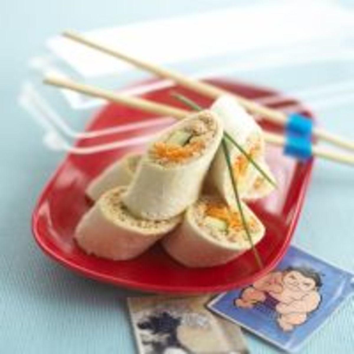 Kiddie Sushi Rolls