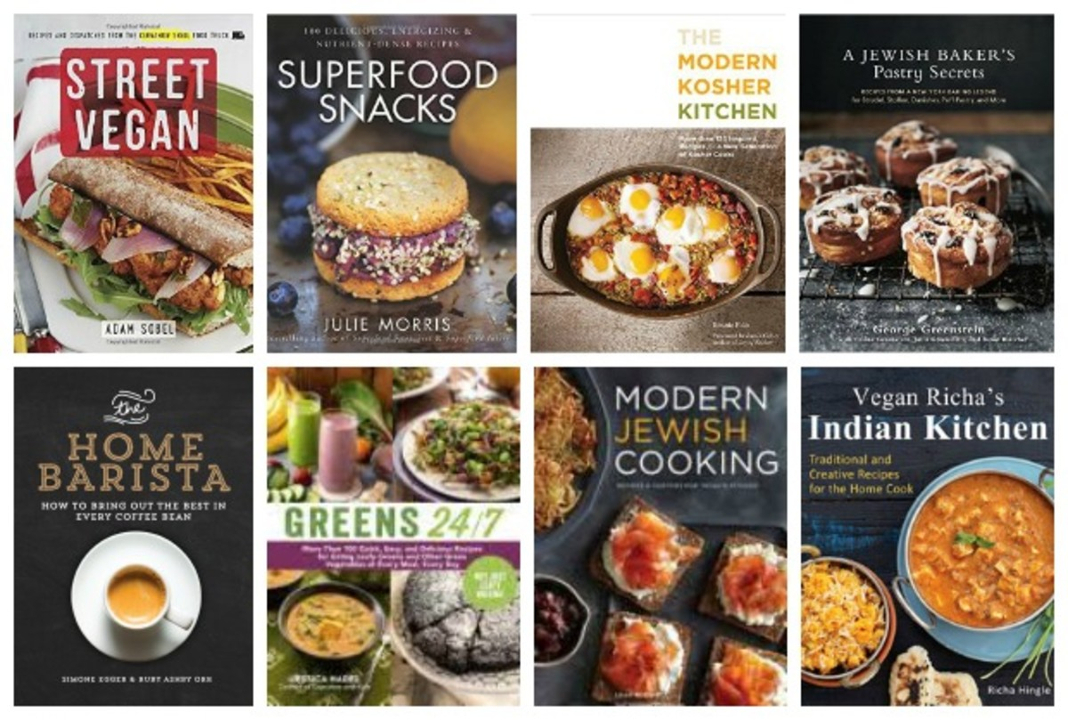 kosher cookbook collage