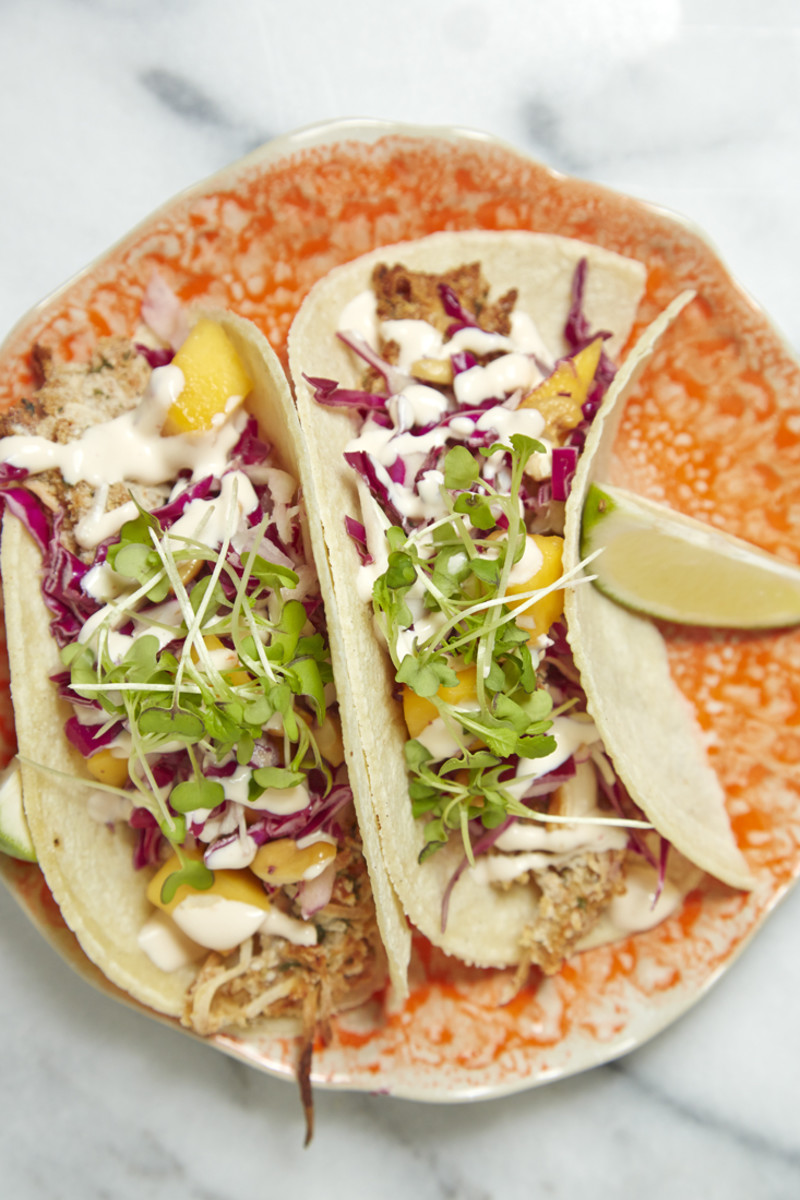 Oven Baked Fish Tacos