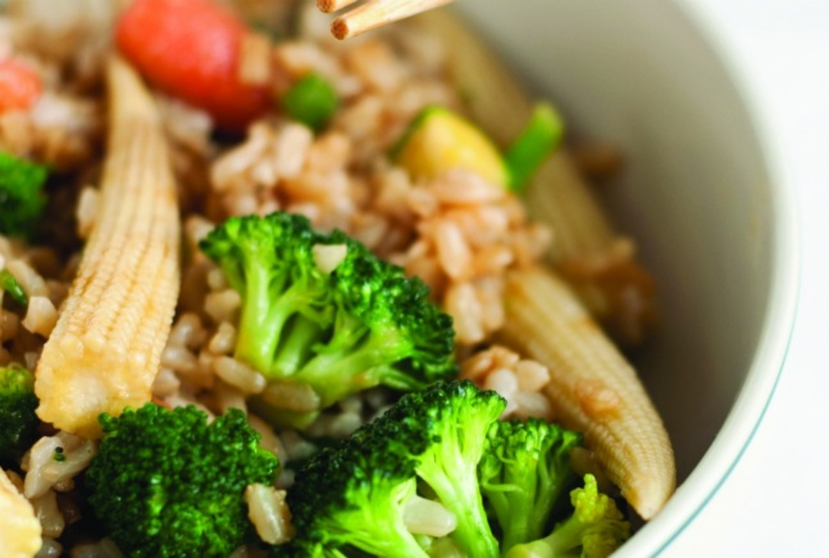 Asian Brown Rice Stir Fry