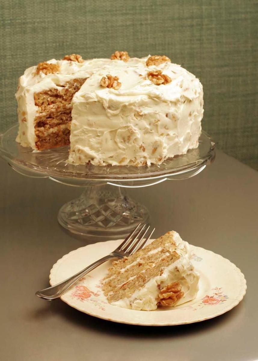 Walnut Hummingbird Cake