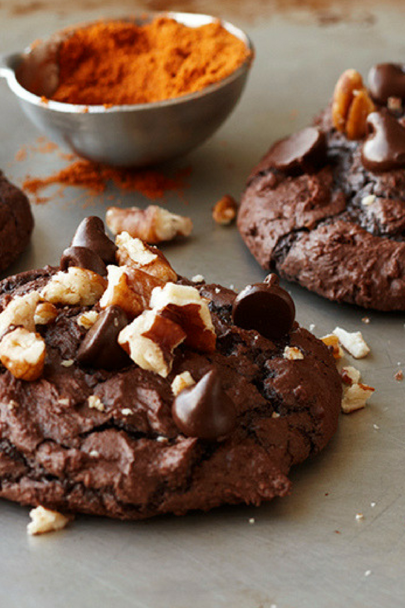 SPICY HOT CHOCOALTE BROWNIE COOKIES