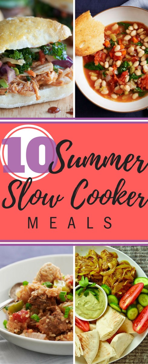 10 summer slow cooker dinners