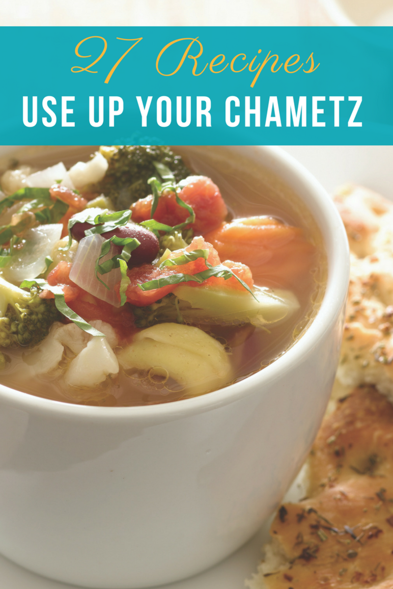 27 recipes to use up your chametz, clean out your pantry and get ready for Passover