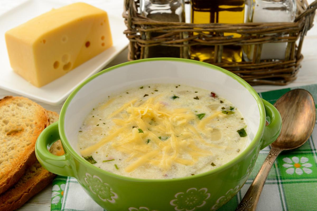 potato and cheese soup