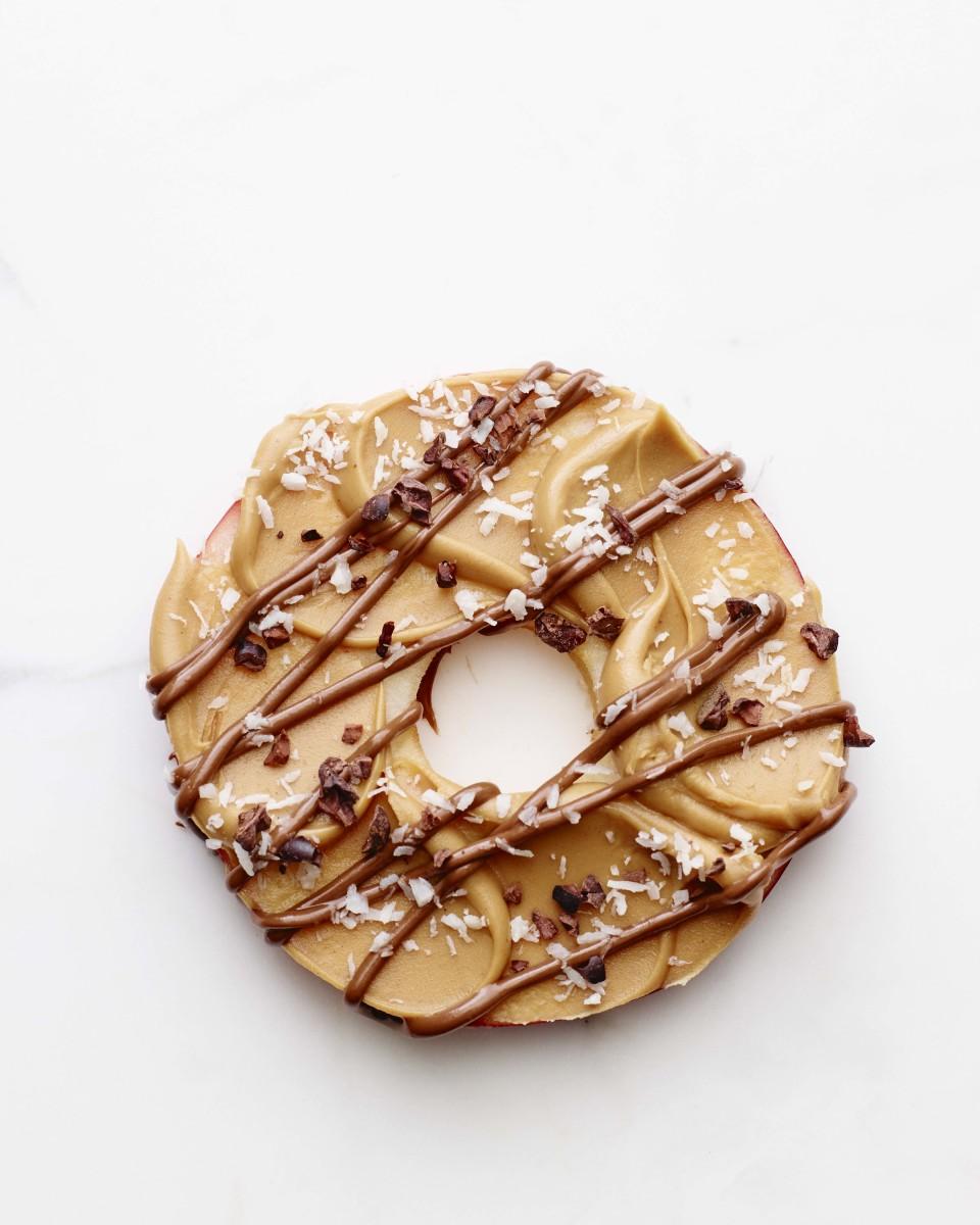 apple donut rings vertical