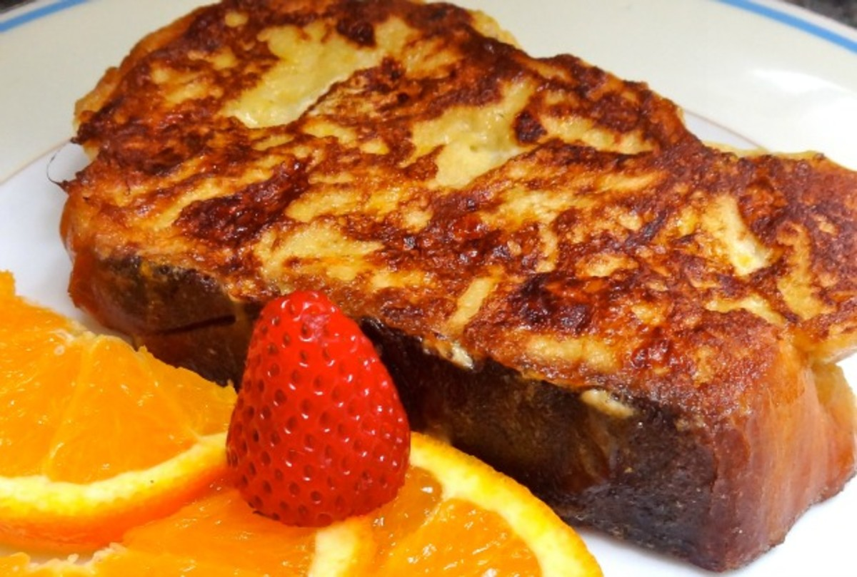 non dairy french toast