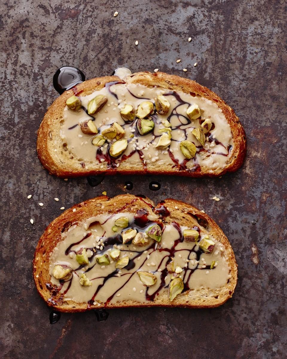Tahini Silan Breakfast Toast