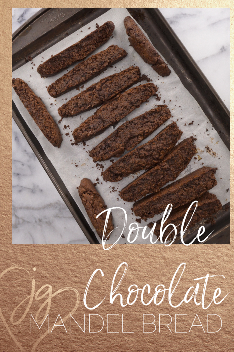 Double Chocolate Mandel Bread video recipe