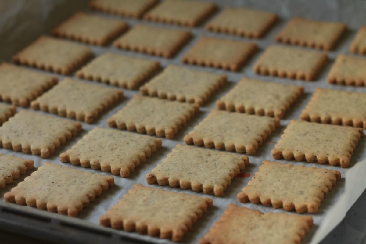 Masala Chai Cookies baked