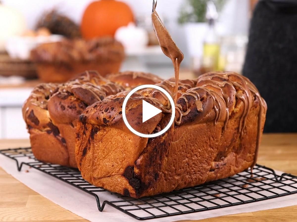 Pumpkin Chocolate Babka Video