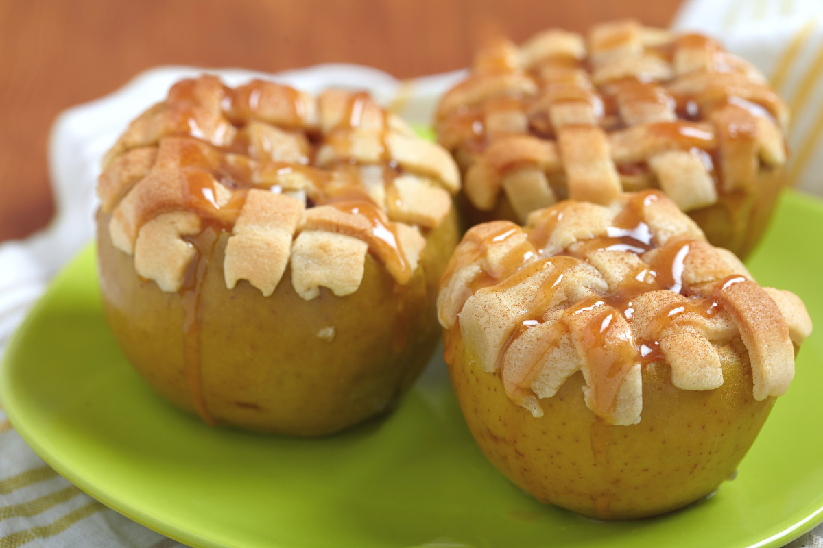 Individual Baked Apple Pies
