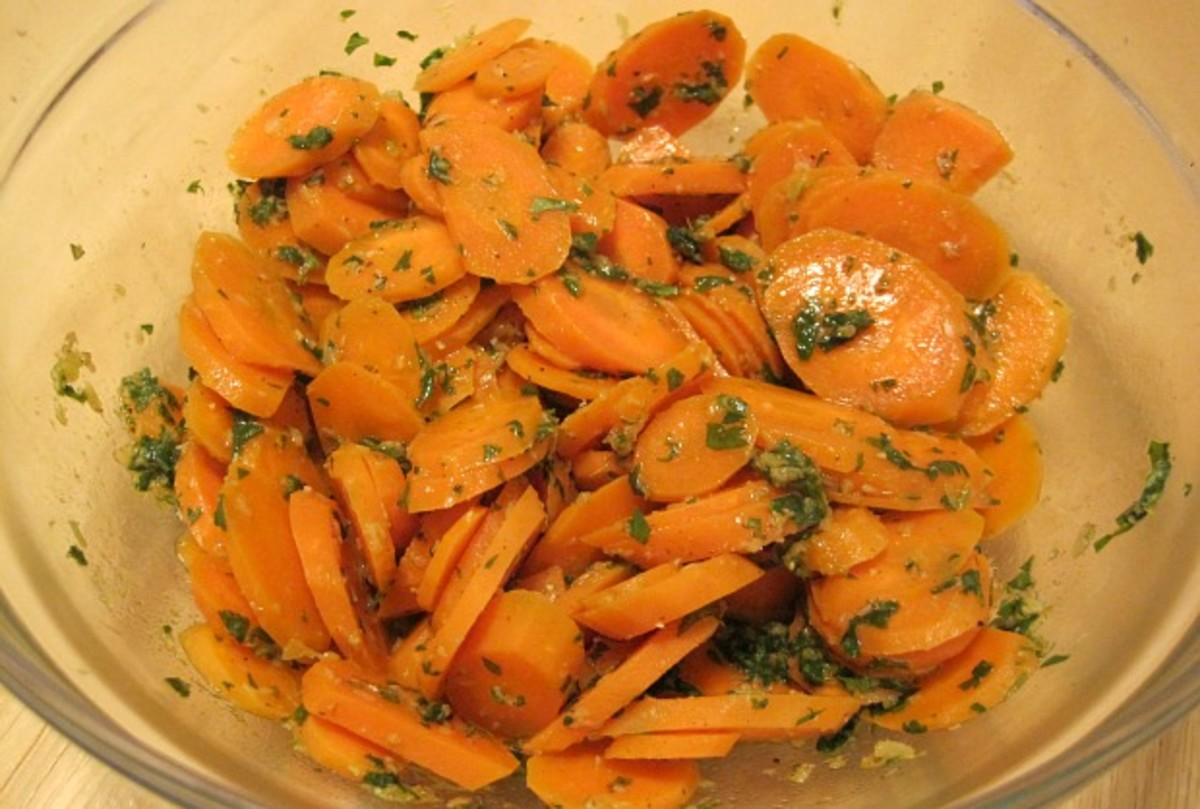 Carrots with Charmoula