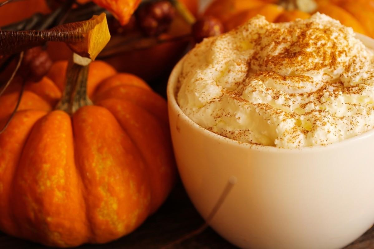 pumpkin bavarian creme