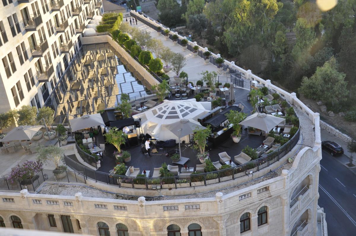 The Waldorf Astoria Jerusalem Garden Terrace