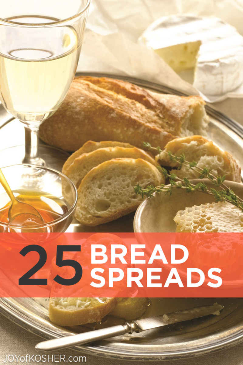 25 Sandwich Spreads for Bread or Challah