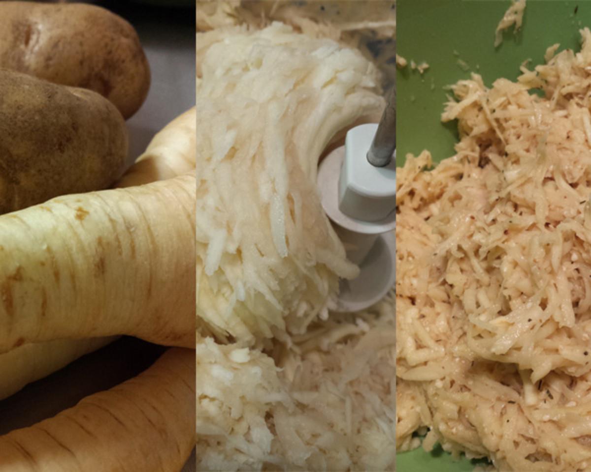 Week 7 Parsnip and potato latkes 1