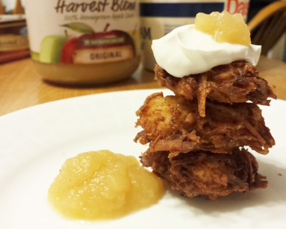 Week 7 Parsnip and potato latkes 3