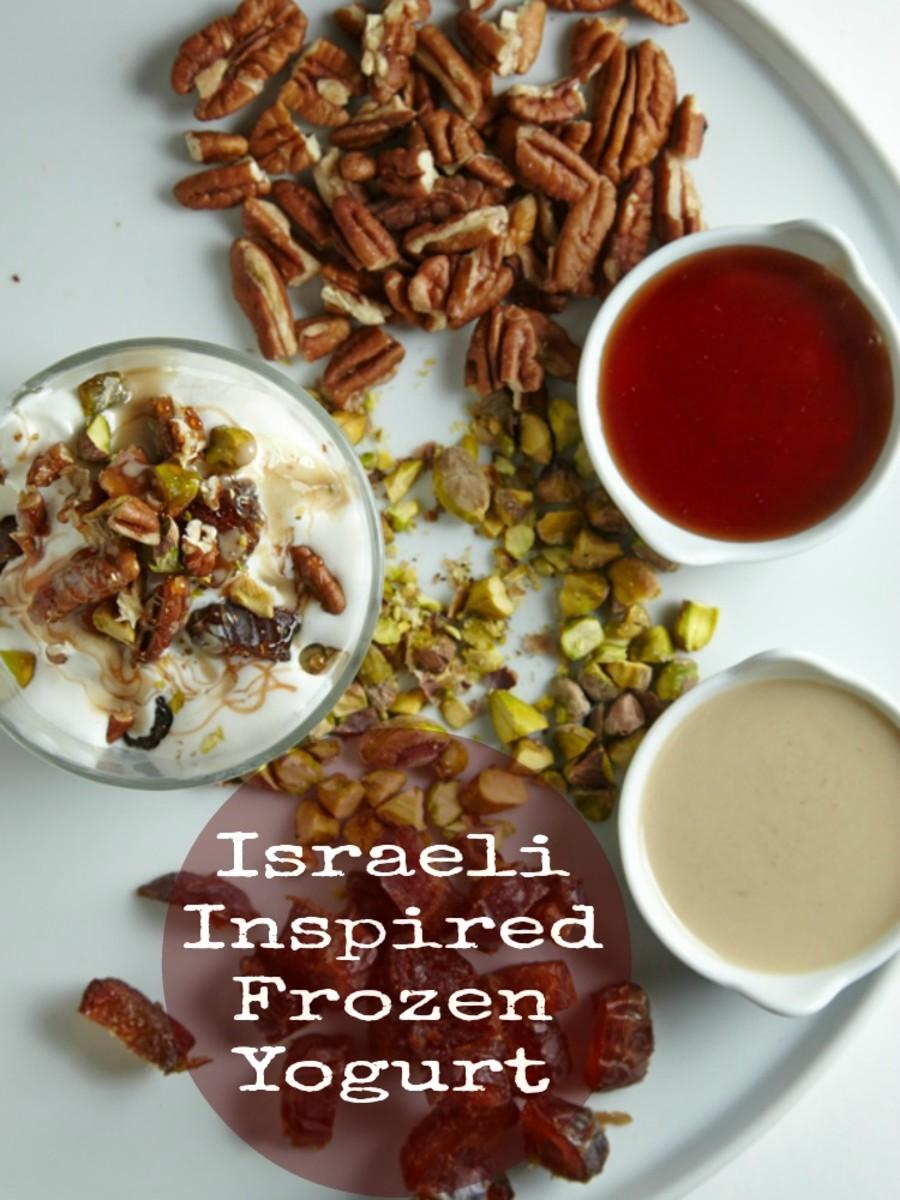 Israeli Inspired Frozen Yogurt