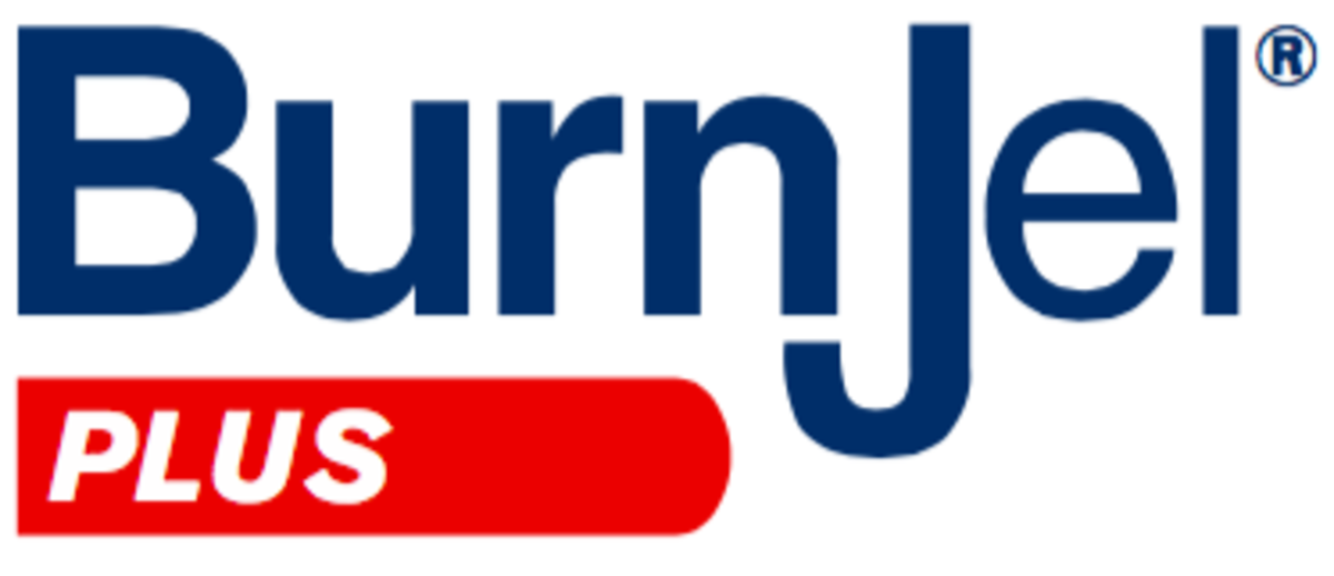 burn jel plus logo