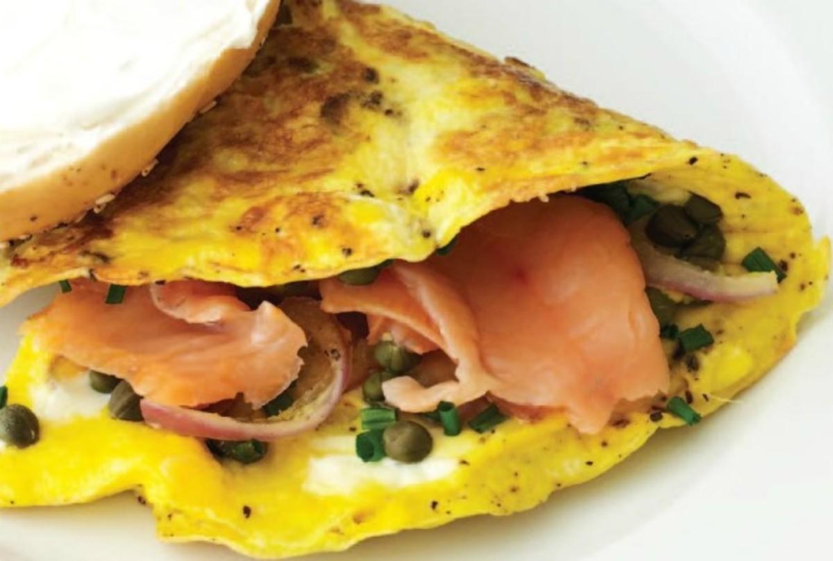 Smoked Salmon Omelet