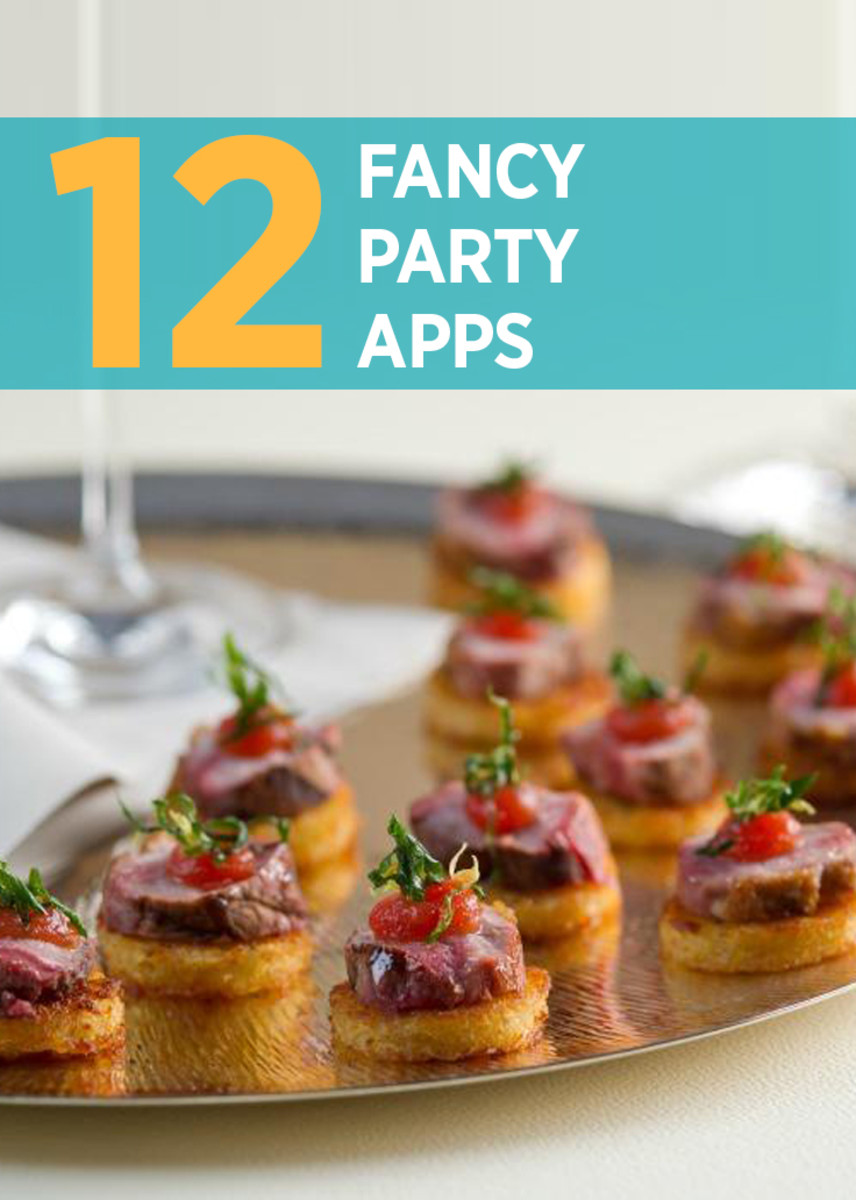 12 Fancy Party Appetizers