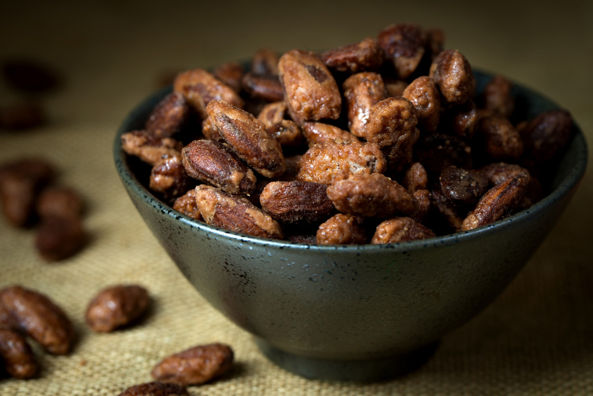 brown sugar roasted nuts